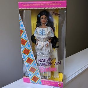 Native American Barbie, special edition